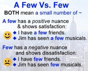 happy-english-a-few-vs-few